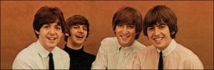 Beatles rubber retrato