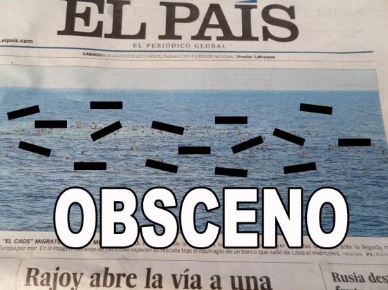 Tapa naufragos El País CAST