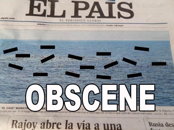 Tapa naufragos El País ENG