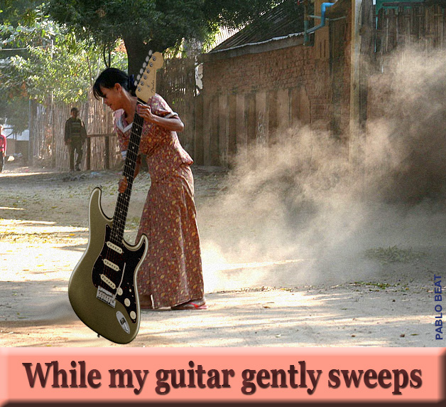 While My Guitar Sweeps